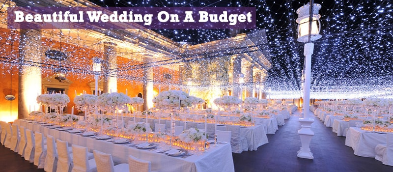 Few People Realize That Having A Beautiful Wedding Does Not Require Spending Their Entire Savings